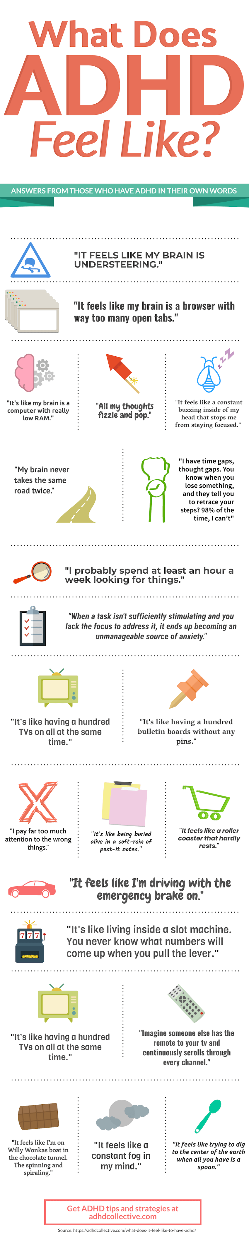 What Does ADHD Feel Like Infographic