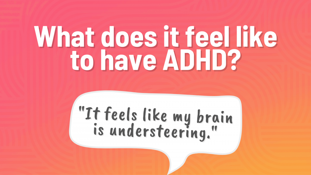 how a person with adhd thinks