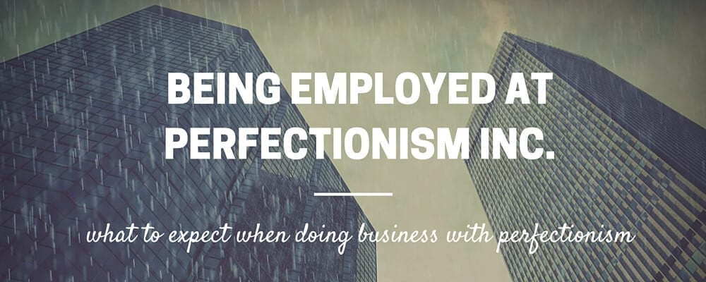 perfectionism and adhd