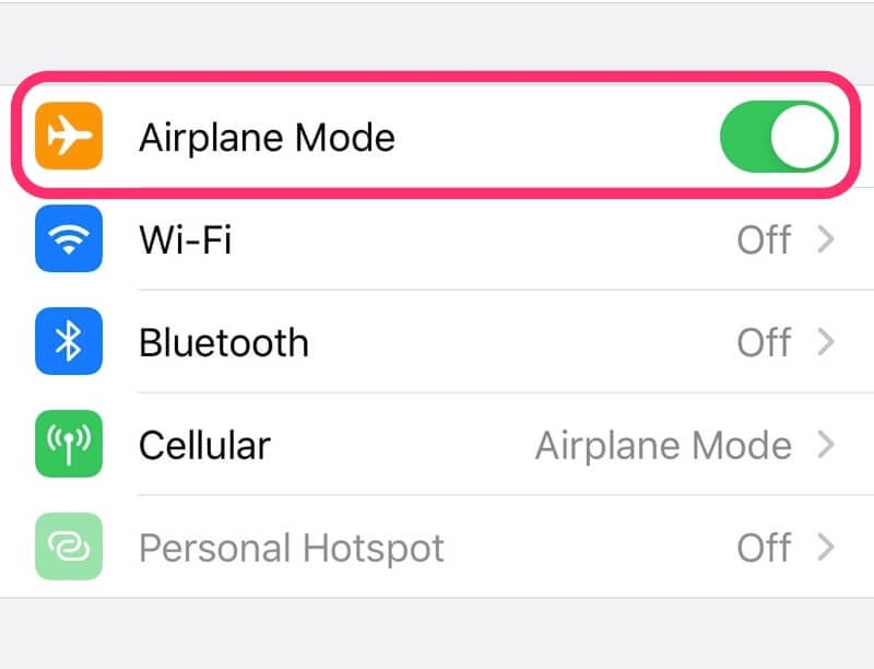 Airplane Mode For ADHD