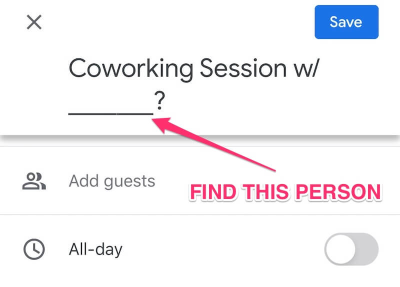 ADHD Coworking Session