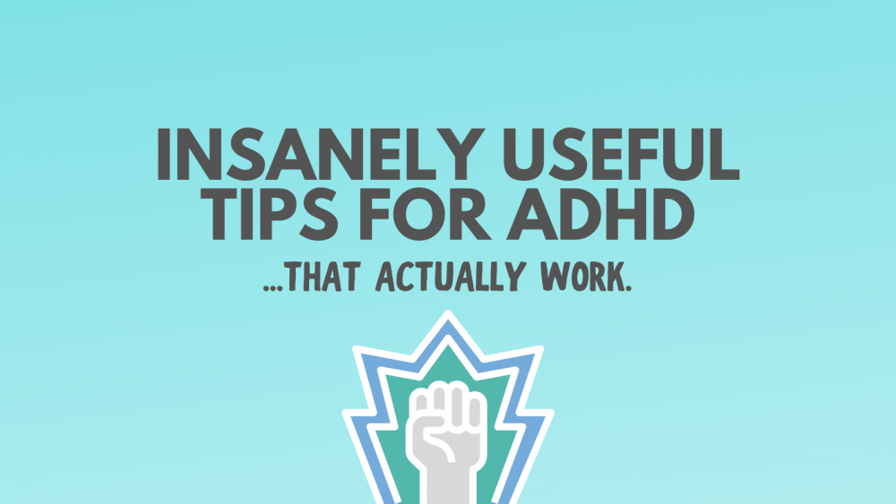 Tips for ADHD productivity